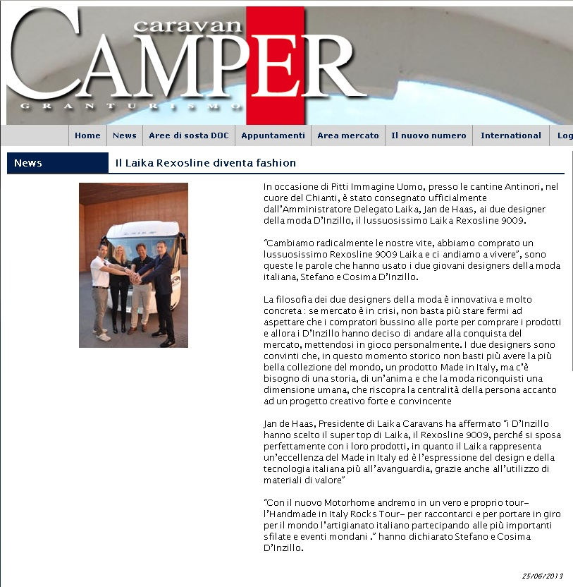 CARAVAN E CAMPER - d'inzillo