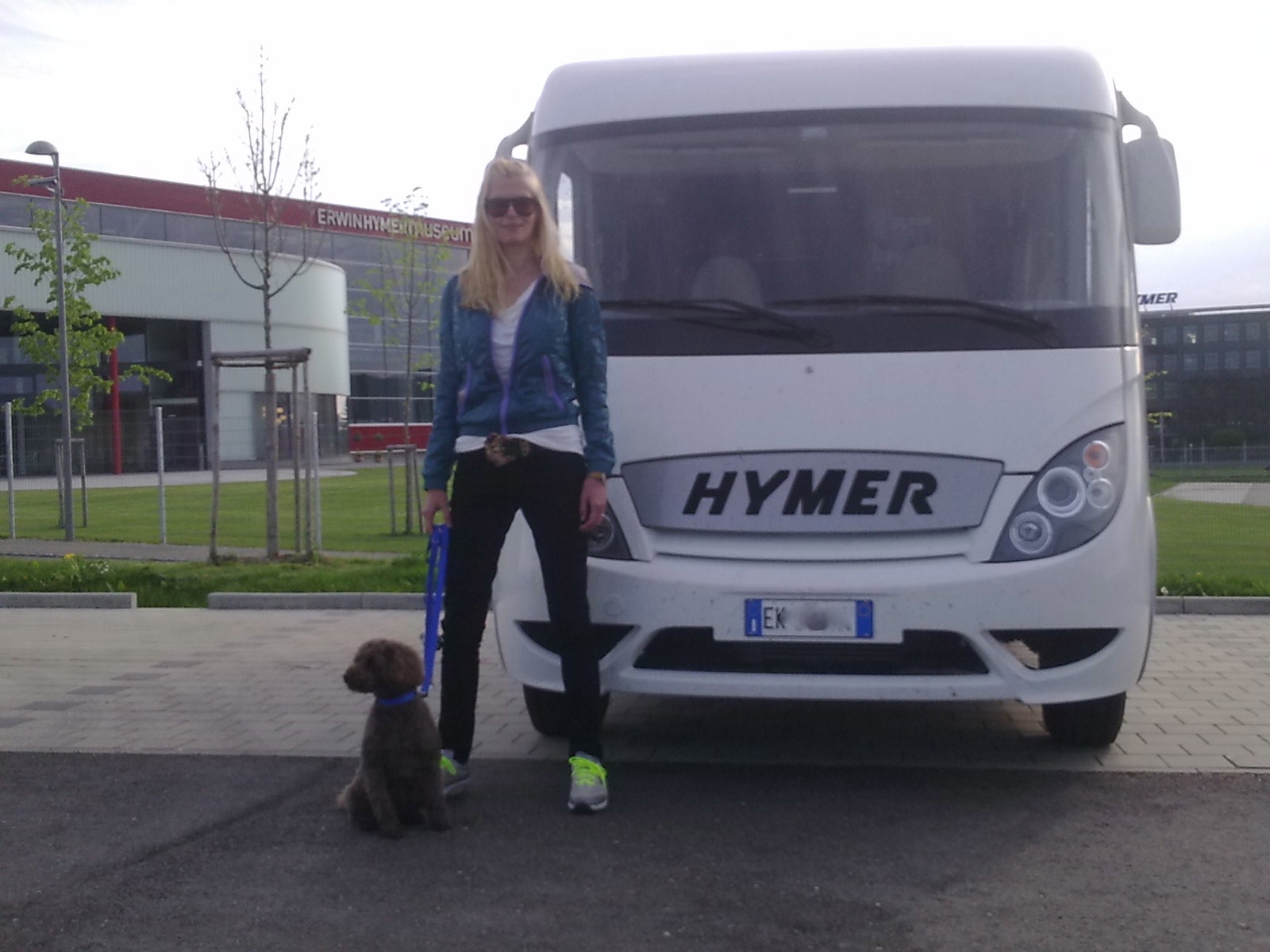 Our first Love! Visiting Hymer museum last year.